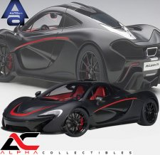 McLAREN P1 (MATT BLACK W/ RED ACCENTS)