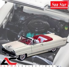 1956 LINCOLN PREMIERE CONVERTIBLE WHITE