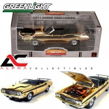 24K Gold 1971 Dodge Challenger Convertible