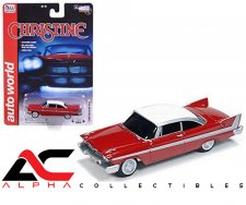 1958 RED PLYMOUTH FURY CHRISTINE NIGHT VERSION