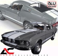 "1967 SHELBY MUSTANG GT350 GRAY ""50TH ANN EDITION"""